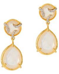 Alexandra Alberta - Yosemite Pearl Earrings - Lyst