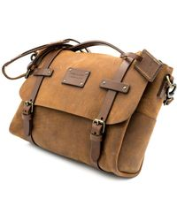 THE DUST COMPANY Messenger In Heritage Brown