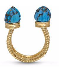 LMJ Sea Breeze Ring - Blue