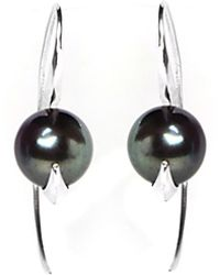 Lee Renee - Cathy Pearl Earrings - Lyst