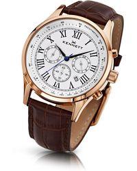 Kennett Watches - Savro Gold White Brown - Lyst