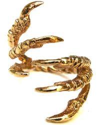 Tessa Metcalfe - Gold Pigeon Grasp Ring - Lyst
