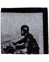 The Black Ears - The Gentleman Rider Silk Pocket Square - Lyst