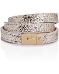TANCHEL - Negara Cuff Bracelet In Ice Gold - Lyst