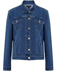 Baukjen Organic Denim Jacket - Blue