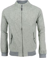 lords of harlech - Harry Jacket In Olive - Lyst