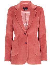 Baukjen Nadia Bci Cotton Jacket-salmon - Pink