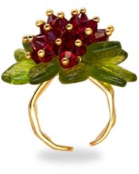 Annele Rosealicious Ring - Multicolour