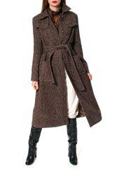 AGGI Meryl Brunette Coat - Brown