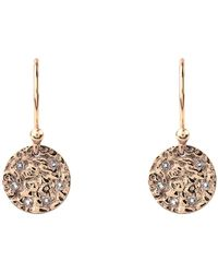 Latelita - Cosmic Full Moon Earring In Rosegold - Lyst