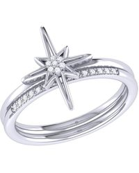 LMJ North Star Detachable Ring In Sterling Silver - Metallic