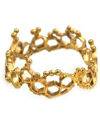 Annabelle Lucilla Jewellery - Apollo Ring Gold - Lyst