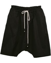 Zsigmond Dora Menswear Tana Shorts - Black