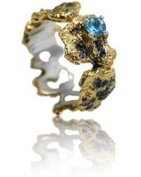 Karolina Bik Jewellery Out Of The Sea Ring - Metallic