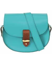 N'damus London - Victoria Aquamarine Cross Body Bag - Lyst