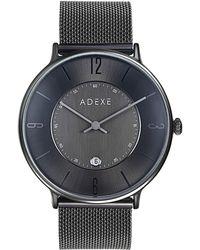 ADEXE Watches | Mac Grande Gun Black | Lyst
