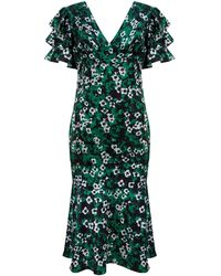 Ukulele Persephone Dress - Green