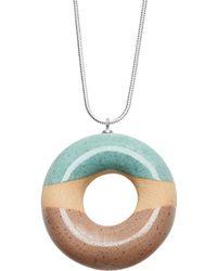 Tadam! Design - Vanilla Doughnut With Mint & Hazelnut Glaze - Lyst