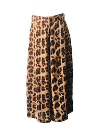 ARSHYS Leopard Culottes - Brown