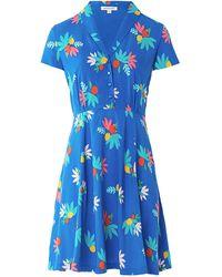 Emily and Fin Adele Blue Summer Fruits Short Dress