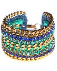 Miss High & Low - Sofia Bracelet Gold - Lyst
