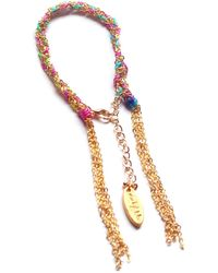 Miss High & Low - Fine Rainbow Bracelet Gold - Lyst
