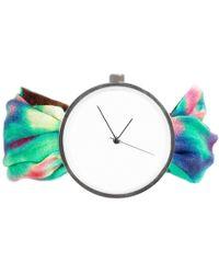 May28th - 04:23pm Multicolour Silk Watch - Lyst