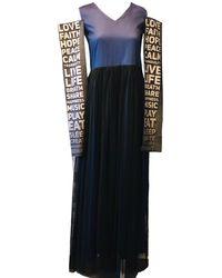ARSHYS Statement Tulle Dress - Blue