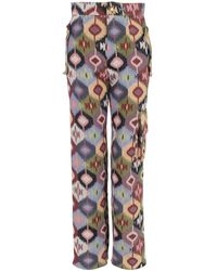 relax baby be cool Multicolour Canvas Long Pants With Pockets