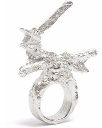 Loveness Lee - Moonglade Big Sterling Silver Statement Ring - Lyst
