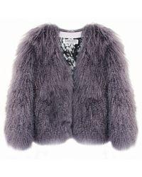 Florence Bridge Matilda Jacket Slate - Gray