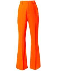 AGGI Camilla Neon Orange Trousers