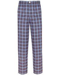 Law of Sleep - Theodore Pyjama Trousers Blue - Lyst