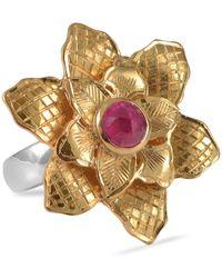 Emma Chapman Jewels Violetta Ruby Ring - Red