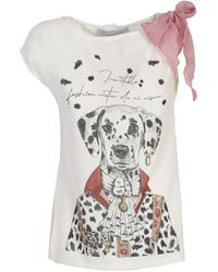 The Extreme Collection Dalmatian Roland T-shirt - White