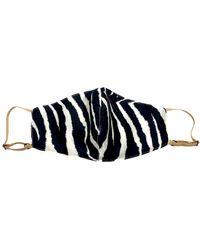 NARCES Adjustable Zebra Lightweight Mask - Multicolour