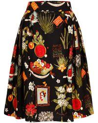 Marianna Déri - Hanna Skirt Frida Amor Black - Lyst