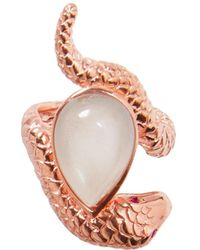 Alexandra Alberta - Arizona Rose Moonstone Ring - Lyst