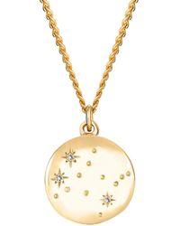 No 13 Gemini Constellation Necklace - Multicolour