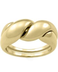 MONARC JEWELLERY - The Puzzle Ring 9ct Gold - Lyst