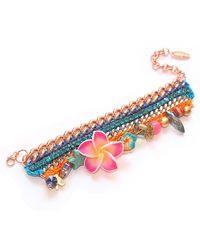 Miss High & Low - The Secret Garden Swarovski Bracelet - Lyst