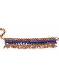 Miss High & Low - Thracian Sun Gold Bracelet - Lyst