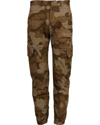 lords of harlech G.i. Cargo In Chevron Camo Earth - Brown