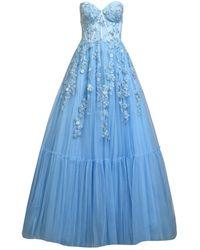 MATSOUR'I Selina Evening Gown - Blue