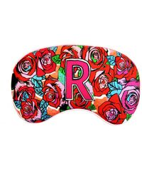 Jessica Russell Flint R For Roses Silk Eye Mask - Red