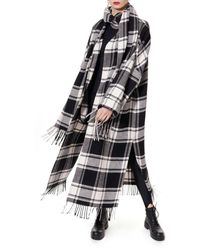 AGGI Mischa Domino Coat - Black
