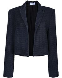 The Bee's Sneeze - Black Wool Tuxedo Blazer - Lyst