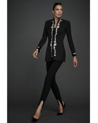 The Extreme Collection Black Embroidered Military Blazer The Icons