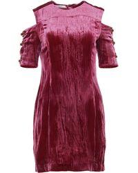 Funlayo Deri - Finn Velvet Mini Dress - Lyst
