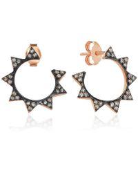 Sadekar Jewellery - Gear Earrings Large - Lyst